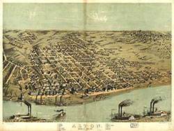 Alton, Madison Co., Illinois 1867